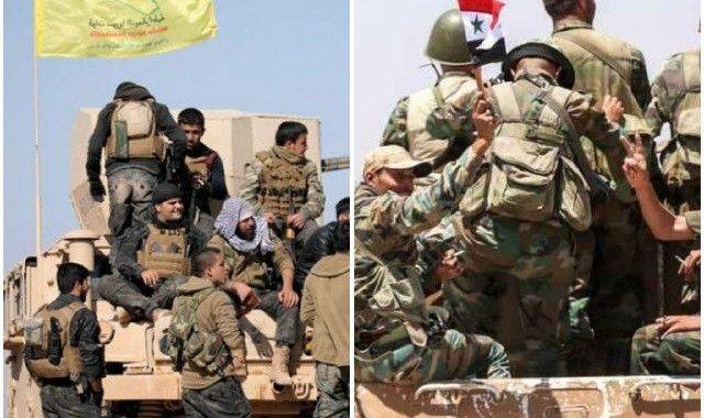 قسد تسير على خطى مليشيا الأسد حذو القذة بالقذة.