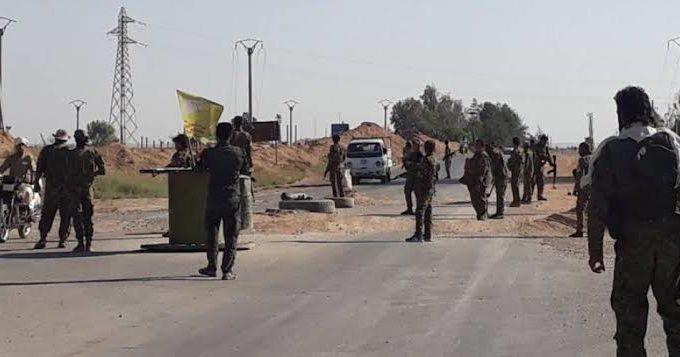 مقتل شاب مدني على يد عناصر قسد في مدينة الرقة.