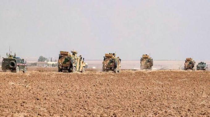 دورية روسية تركية جديدة في ريف عين العرب الغربي.