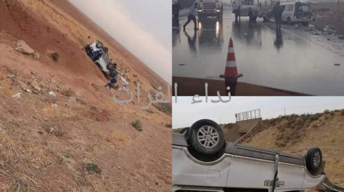 حادث سير يودي بحياة شخص في ريف الحسكة.