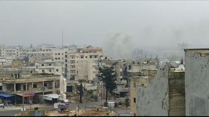 """مليشيا الأسد تقصف مدينة إدلب، وسقوط شهداء في """"أريحا"""""""