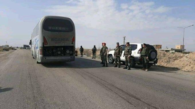 عصابات الأسد تكثف من تواجدها على طريق ديرالزور_تدمر بعد هجمات تنظيم داعش.