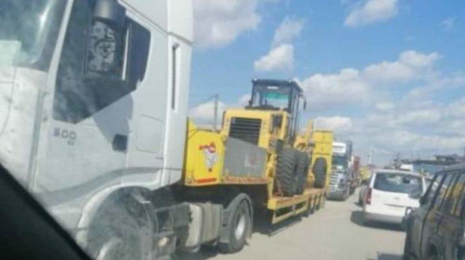 قافلة عسكرية لوجستية تابعة للتحالف الدولي تدخل الأراضي السورية.