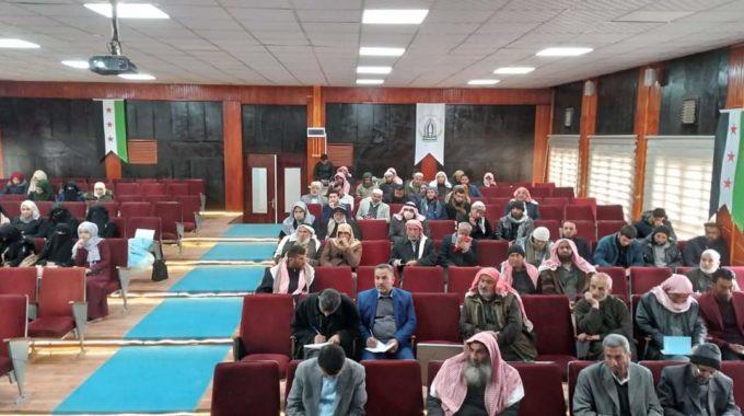 افتتاح دورة لإعداد معلمي القرآن في ريف الحسكة الشمالي.